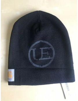 Uniform Experiment X Carhartt Wip Roll Edge Knit Cap New Beanie Black Ue 112131 by Ebay Seller