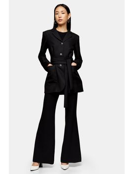 **Black Wrap Blazer By Topshop Boutique by Topshop