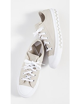 Chuck Taylor Vltg Chevron All Star Ox Sneakers by Converse