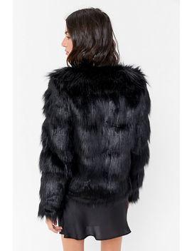 Unreal Fur The Elements Faux Fur Jacket by Unreal Fur