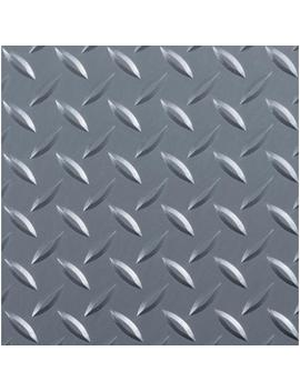 Diamond Tread 8.5 Ft. X 22 Ft. Slate Grey Commercial Grade Vinyl Garage Flooring Cover And Protector by G Floor