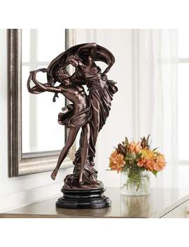 "Floating Dancing Couple Bronze Finish 25 3/4"" High Sculpture by Lamps Plus"