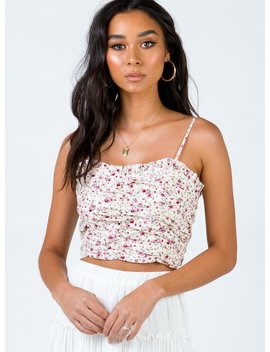 Franklin Floral Top by Princess Polly