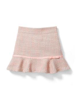 Ribbon Bouclé Skirt by Janie And Jack