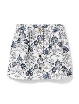 Floral Tapestry Skirt by Janie And Jack