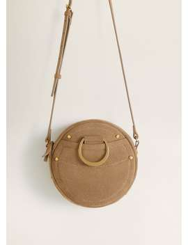 "<Font Style=""Vertical Align: Inherit;""><Font Style=""Vertical Align: Inherit;"">Round Leather Bag</Font></Font> by Mango"