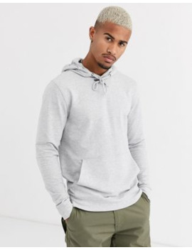 Only &Amp; Sons Basic Hoodie In Grey by Only & Sons