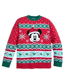 Mickey Mouse Family Holiday Sweater For Men | Shop Disney by Disney