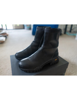 Leather Laceless Zip Hiking Boot by Alyx  ×  Roa  ×