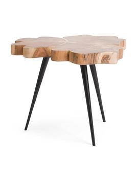 Acacia Wood Live Edge Coffee Table by Tj Maxx