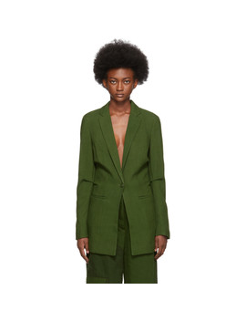 Green 'la Veste Bergamo' Blazer by Jacquemus