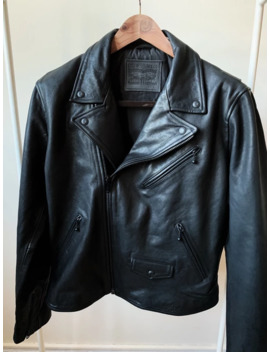 Leather Moto Jacket by Levi's  ×