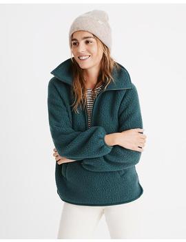 Polartec® Fleece Half Zip Jacket by Madewell