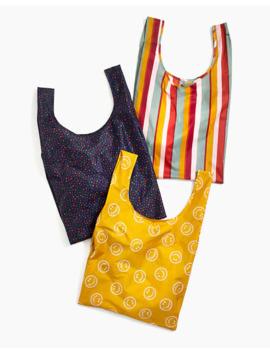 Madewell X Baggu® Three Pack Reusable Bags by Madewell