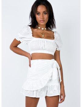 Rafina Mini Skirt by Princess Polly