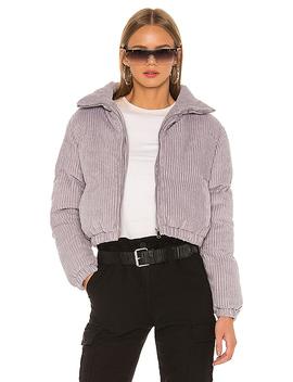 Kora Puffer Jacket In Grey by Superdown