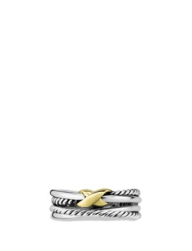 'x Crossover' Ring by David Yurman