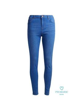 Bright Blue Skinny Jeans by Primark