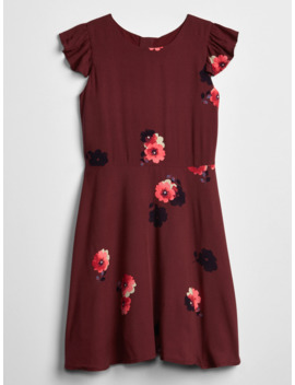 Kids Ruffle Floral Dress by Gap