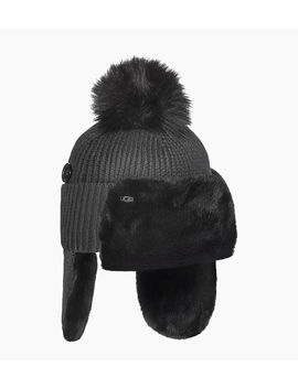 Knit And Faux Fur Trapper by Ugg