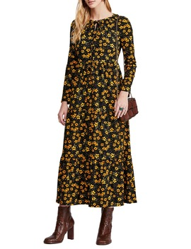 Tiers Of Joy Long Sleeve Prairie Dress by Free People