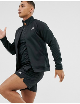 New Balance Running Tenacity Track Top In Black by New Balance