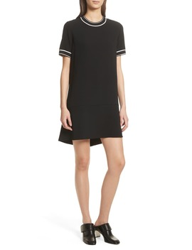 Thatch Crepe Shift Dress by Rag & Bone