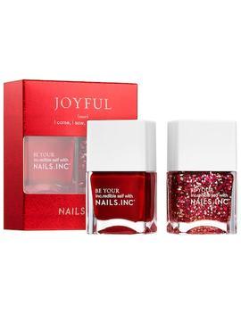 Joyful Nail Polish Duo by Nails Inc.