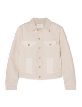 Panelled Denim Jacket by Dion Lee