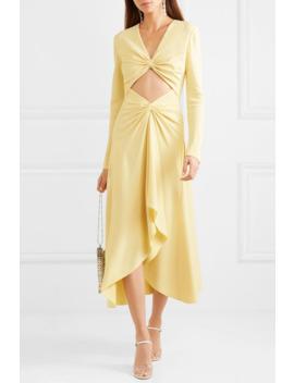 Embellished Cutout Cady Midi Dress by Dion Lee