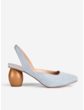 Women Blue Solid Heels by Dorothy Perkins