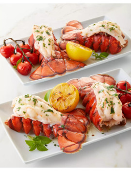 4 Maine Lobster Tails With Lemon Garlic Marinade by Luke's Lobster