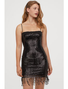 Sequined Dress With Fringe by H&M