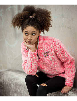 Odd Future Wubby Coral Pink Jacket by Odd Future