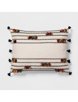 Pom Pom Lumbar Pillow   Opalhouse™ by Opalhouse