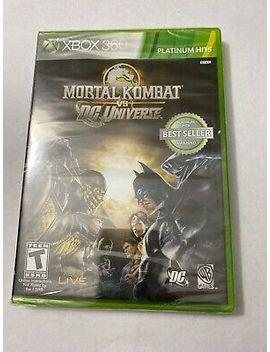 Mortal Kombat Vs. Dc Universe (Microsoft Xbox 360, 2008) New Sealed by Warner Bros.