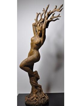 Dryad Statue by Etsy