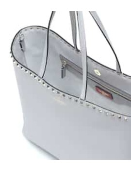 Valentino Garavani Rockstud Leather Shopper by Valentino