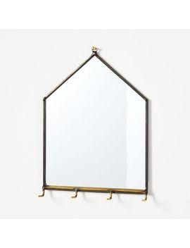 Szklo Glass House Mirror Wall Organizers by West Elm