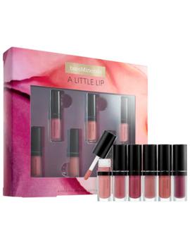 A Little Lip – 6pc Mini Gen Nude Matte & Shine Lip Set by Bare Minerals