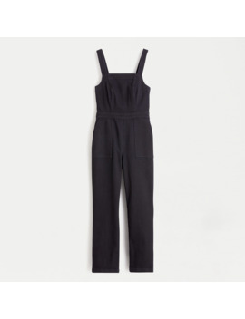 Washed Black Denim Coverall by J.Crew