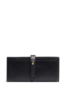New Post Leather Wallet by Madewell