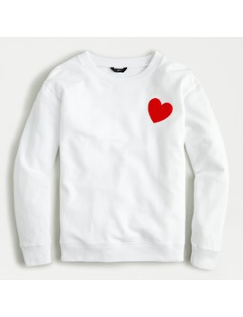 Heart Sweatshirt by J.Crew