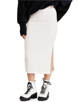 Helen Rib Knit Skirt by Free People