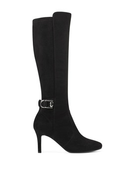 Delfie Tall Buckled Stiletto Boot by Bandolino
