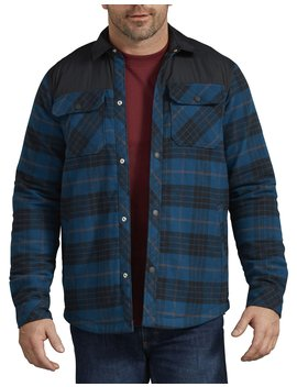 Flannel Shirt Jacket by Dickies