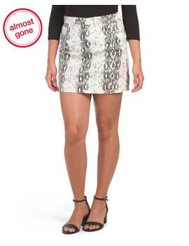 A Line Python Skirt by Tj Maxx