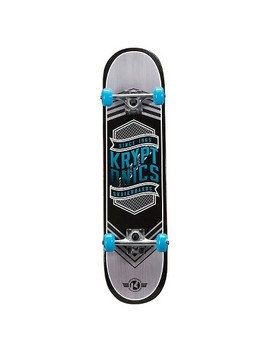 "Kryptonics 31"" Drop In Series Skateboard   Flag Blue by Kryptonics"