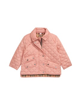 Brennan Water Resistant Diamond Quilted Jacket by Burberry