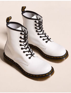 Dr. Martens 1460 White Womens Boots by Tilly's